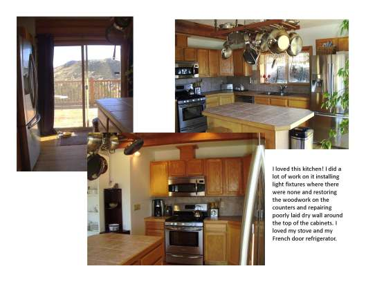 photo of small kitchen with new stainless steel appliances