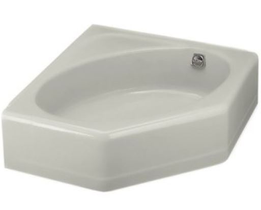 tiny corner bathtub