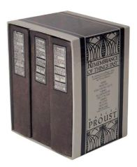 boxed three volume Remembrances of Things Past
