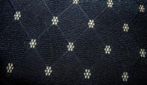 Waverly Fabrics Black and Taupe Jacquard