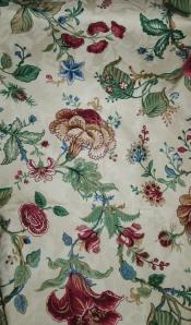 Waverly Fabric Botanical Jocobean Fabric