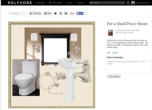 product board from polyvore showing half bath