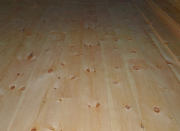 pine wide board flooring