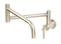 stainless steel pot filler